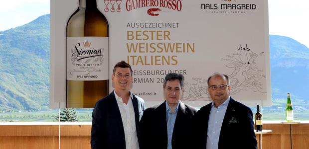 Il Miglior Vino Bianco d'Italia? Si trova in Alto Adige