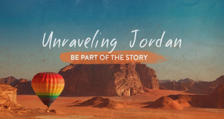 Vuoi raccontare la Giordania? Ecco il primo blog tour su www.unravelingjordan.com