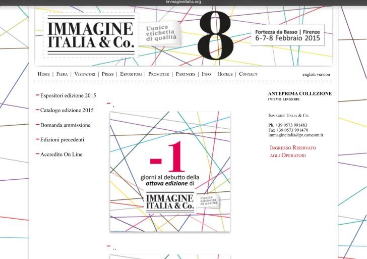 Torna la moda underwear di Immagine Italia &Co.