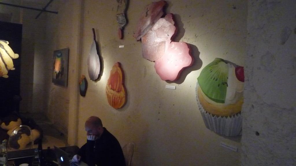 13 Il Gastronauta allestito con le opere di Marina Calamai-2