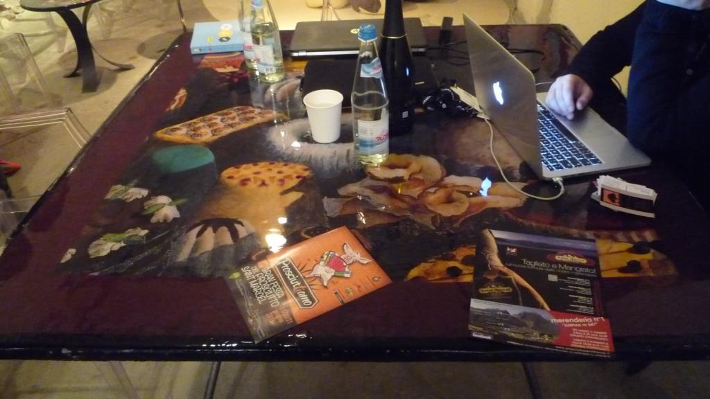 18 Tavolo di Marina Calamai per Il Gastronauta Davide Paolini