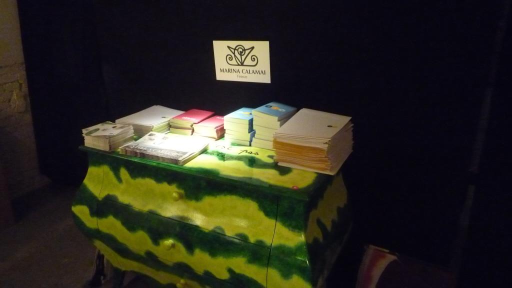 21 Marina Calamai Cassettone Anguria alla Sala Stampa di Taste