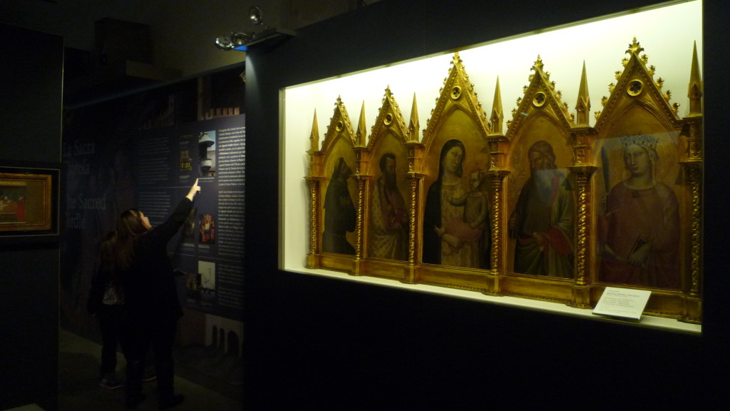 9 Bernardo Daddi Madonna col Bambino 1335 circa