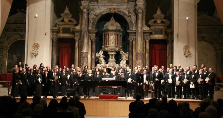 Indimenticabile prova del Coro Harmonia Cantata nel Deutsches Requiem di Brahms