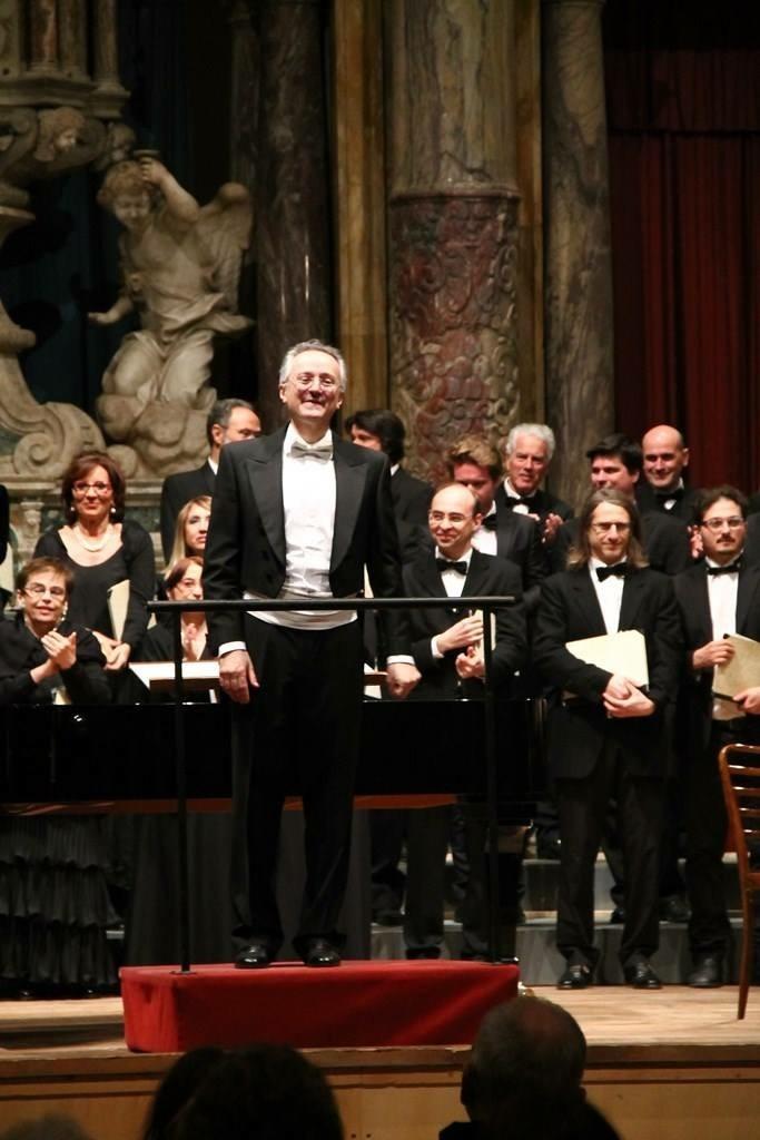 Il maestro Raffaele Puccianti