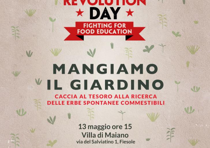 E se mangiassimo il giardino? C'è il Food Revolution Day