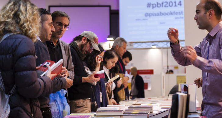 #Ioleggoinbiblioteca al Pisa Book Festival