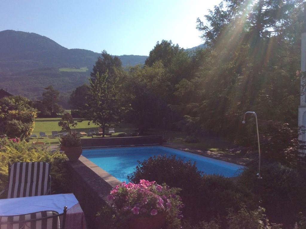 La piscina dell'Hotel Gasthof Doctorwirt