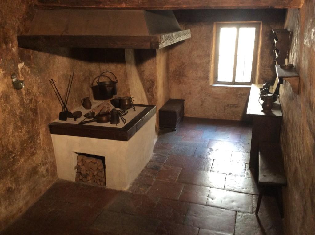 La cucina della casa di Mozart