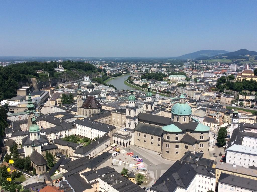 La vista dalla Fortezza