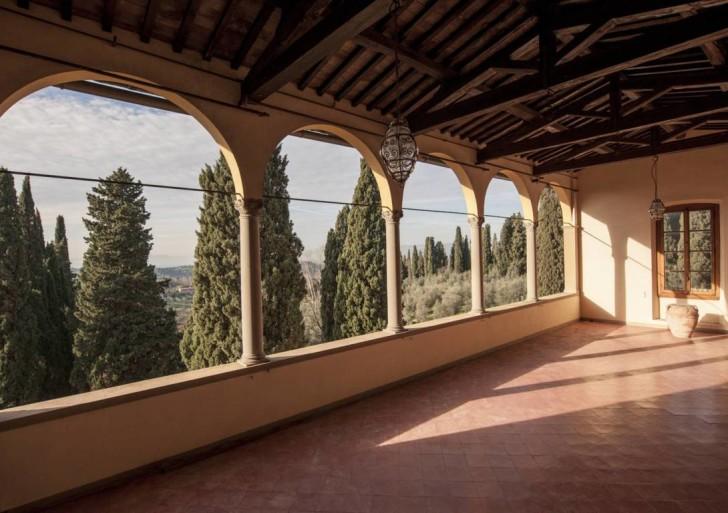Villa Agape, oasi di relax sui colli di Firenze