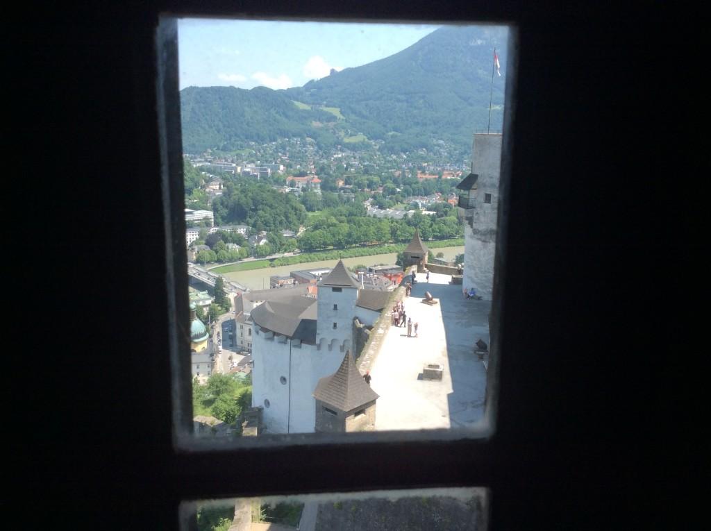 dalla Fortezza una finestra con vista sulla città
