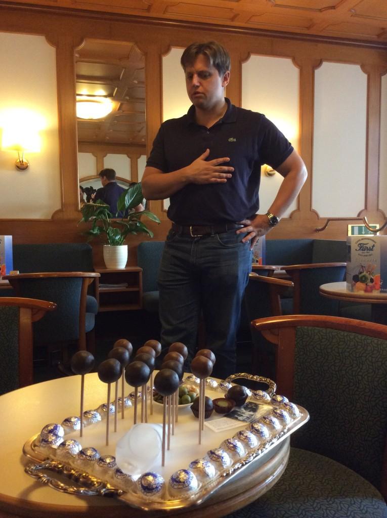 Martin Fürst, erede di Paul inventore dei cioccolatini dedicati aMozart
