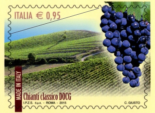 Il Chianti Classico ha il suo francobollo