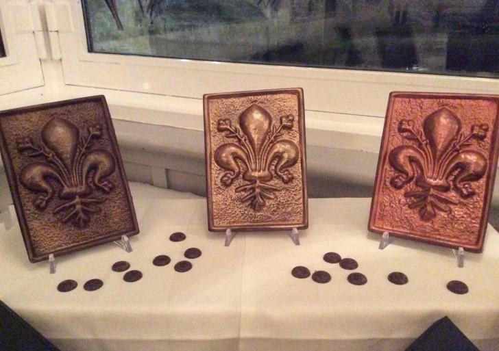 E' nato Giglio Fondente, cioccolato con il giglio di Firenze