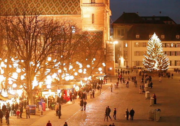 A Basilea il più bel Mercatino di Natale della Svizzera