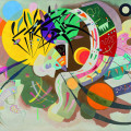 Vasily Kandinsky (Mosca 1866 - Neuilly-sur-Seine 1944) Curva Dominante 1936, olio su tela. New York, Museo Solomon R. Guggenheim. Foto di Kristopher McKay