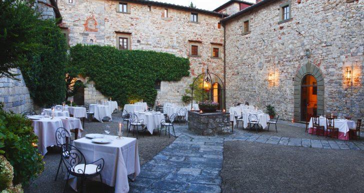 """""""Dining with the stars"""" al Ristorante Il Pievano del Castello di Spaltenna"""