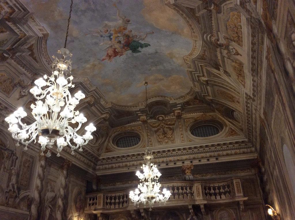 La meravigliosa sala