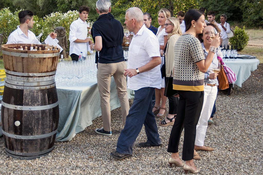 Il tavolo dei vini