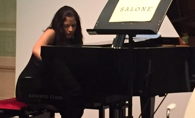 La pianista Irene Veneziano si racconta