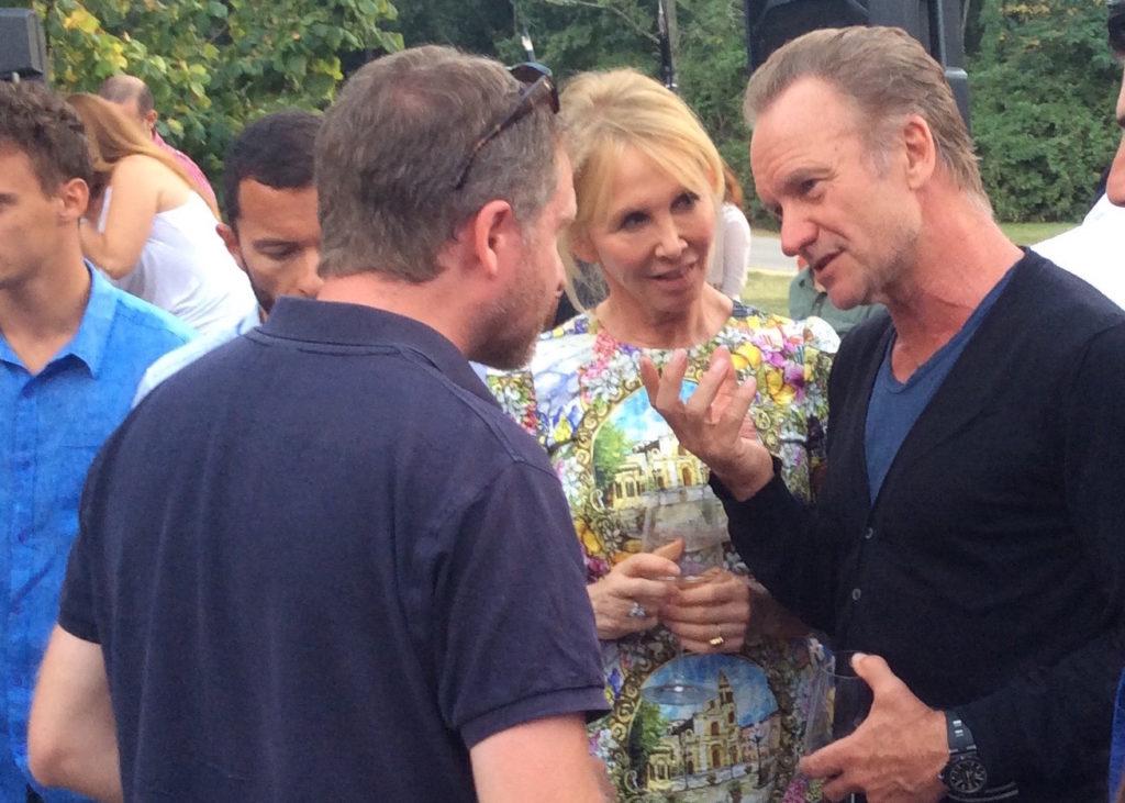 Sting e Trudie Styler