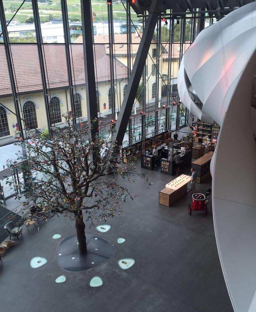 il-museo-visto-dallalto