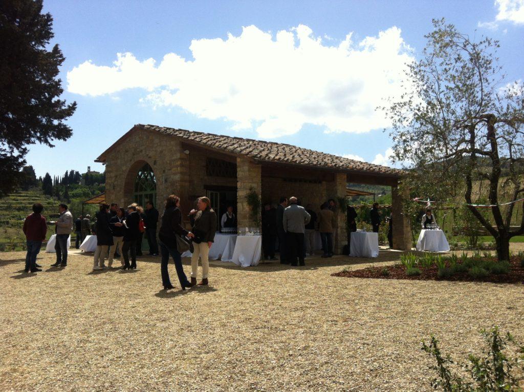 Borgo del Cabreo, relais di charme, la sala colazione