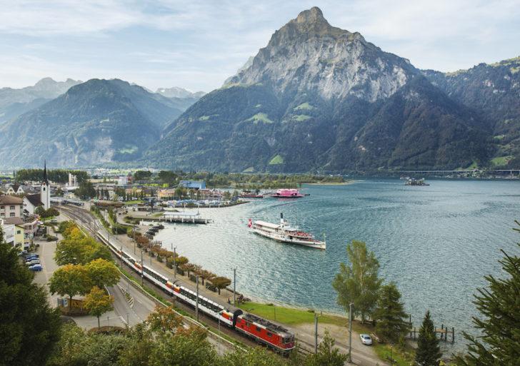 Visitare la Svizzera in treno. Consigli utili per l'uso