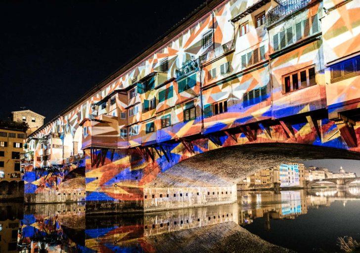 F-Light, Firenze Light Festival tra giochi di luce e installazioni dall'8 dicembre al 7 gennaio