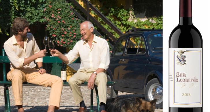 San Leonardo 2013: per le guide enologiche è il miglior vino rosso d'Italia