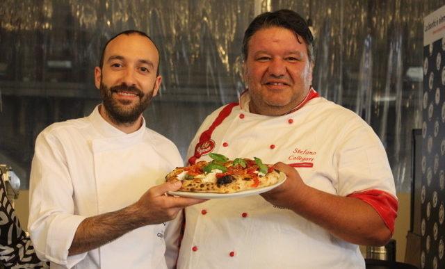 Marco Fierro pizzaiolo del Mercato Centrale Firenze