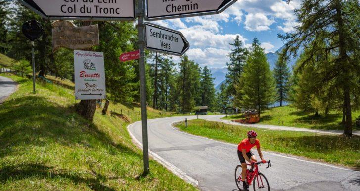 Svizzera in bicicletta con 20mila km di tracciati e una app gratuita speciale