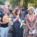 Sting e Trudie Styler festa per l'anniversario di matrimonio e cittadinanza onoraria di Figline e Incisa